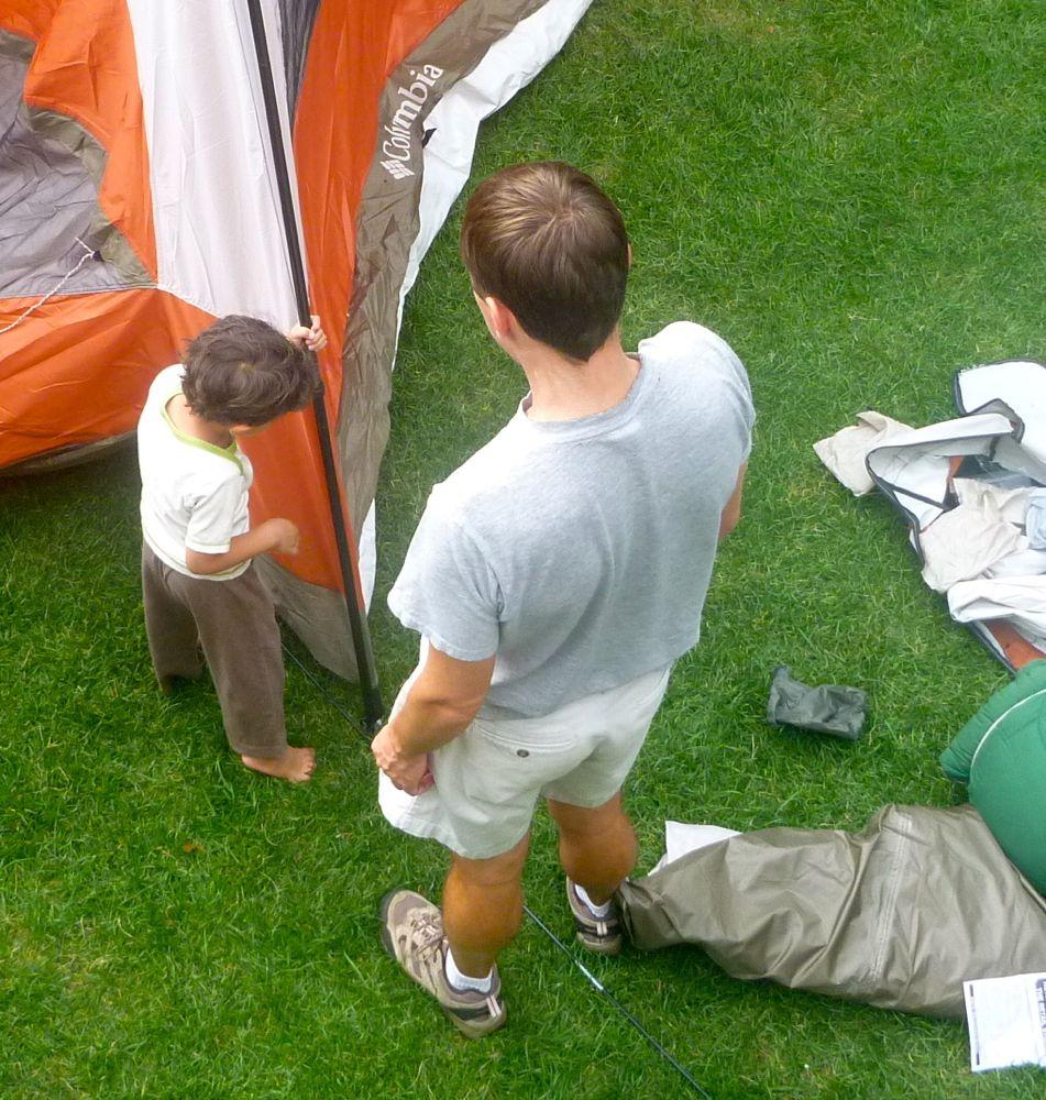 marcus u0027s first camping trip